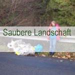 Saubere Landschaft