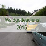 Waldgottesdienst 2015